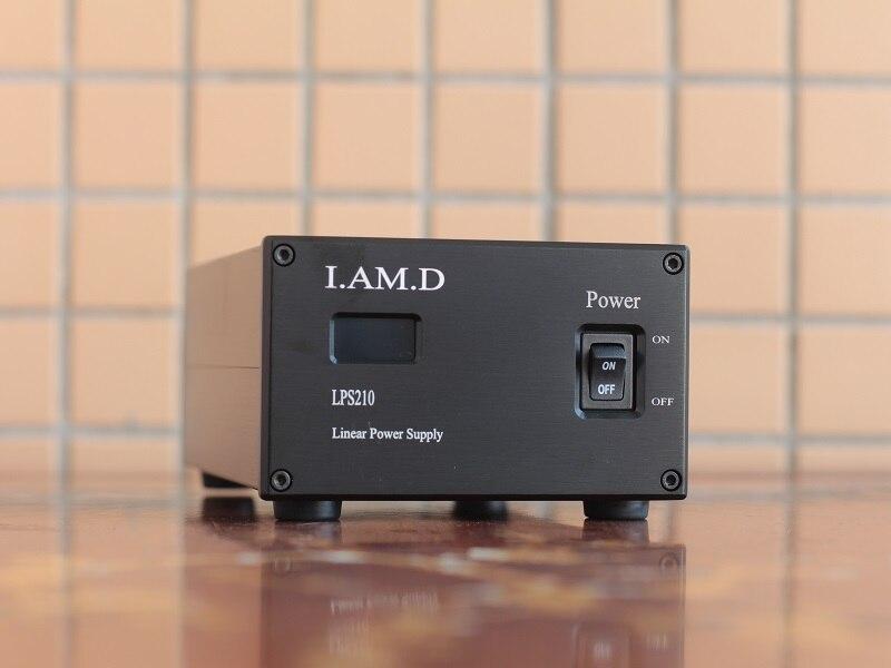 I.AM.D LPS210 Linear Power Supply For Digital Audio Amplifier Output DC32V/5A+USB DC5V/2A Input AC110V/230V DC24V/5A Optional